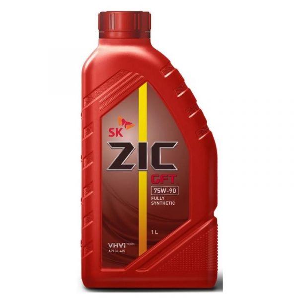 Масло трансмиссионное ZIC GFT 75W90 (1 л) синт. GL-4/5 /132629/