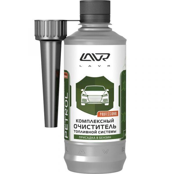 Очиститель топливной системы (бензин комплексный) на 40-60 л (310 мл) (LAVR) /Кат.№ LN2123/