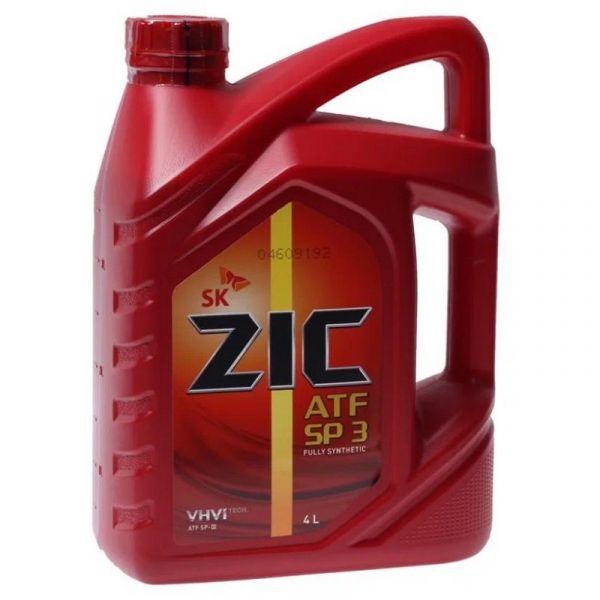 Масло трансмиссионное ZIC ATF SP-3 (4 л) синт. /Кат.№ 162627/