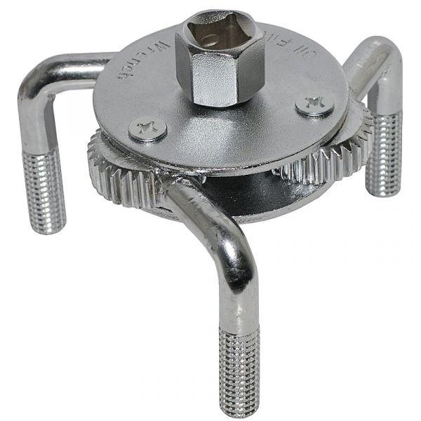 Съемник масляного фильтра (краб) 65-110 мм /АвтоДело /40517/